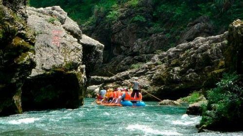 Xiangxi Mengdong River Drifting