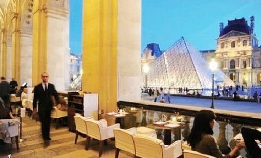 Cafe Le Grand Louvre