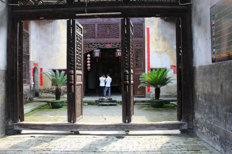 Hakka round houses in Hezhou3