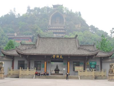 Giant Buddha in Rong County