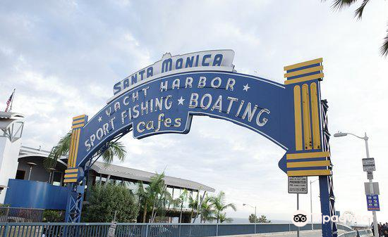 Santa Monica Yacht Harbor Sign3