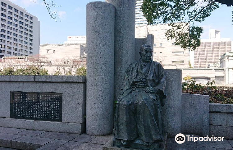 Statue of Mr. Hayashi Ichizo
