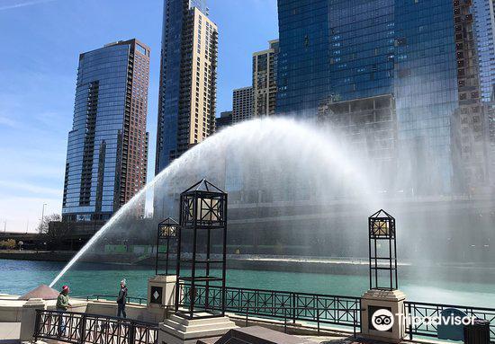 Centennial Fountain and Water Arc
