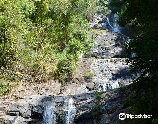 Pariwat瀑布2