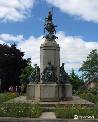 Exeter's Northernhay War Memorial