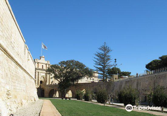 Mdina Main Gate - Baroque gateway3