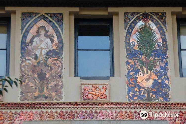 用彩色瓷磚裝飾的蒙達爾宮3