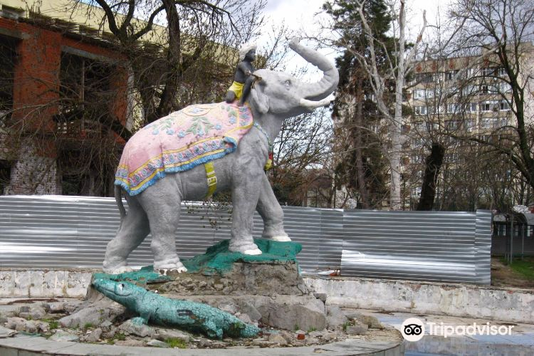 Fountain the Boy at the Elephant