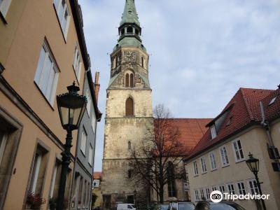 The Kreuzkirche church