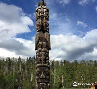 Gitanyow Totem Poles