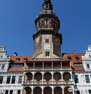 Big courtyard of the Residence / Grosser Schlosshof Dresdner Residenz