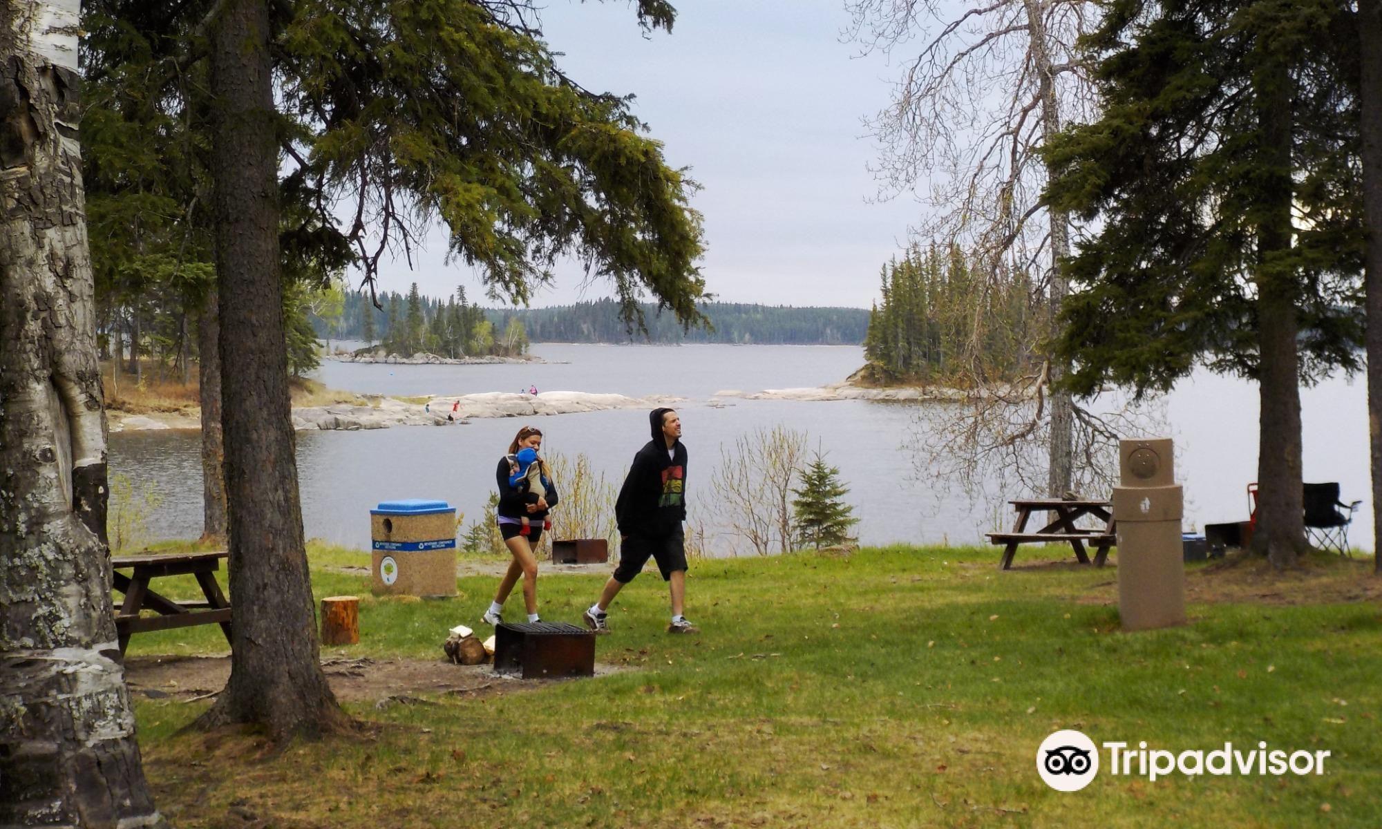 Paint Lake Provincial Park