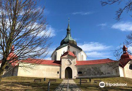 Poutni Kostel Sv. Jana Nepomuckeho Na Zelene Hore