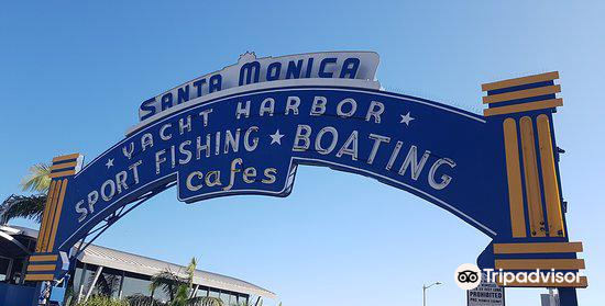 Santa Monica Yacht Harbor Sign4