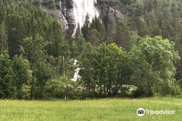 Espelandsfossen Waterfall2
