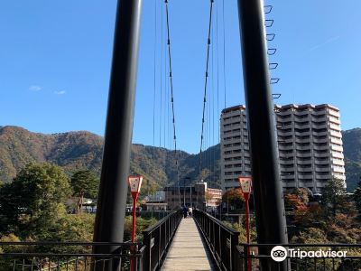 Kinu-Tateiwa-Otsuribashi Suspension Bridge
