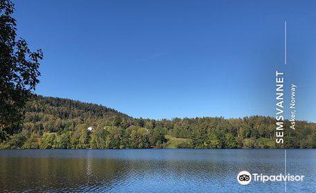 Semsvannet Lake