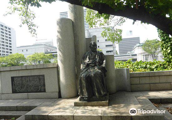 Statue of Mr. Hayashi Ichizo2