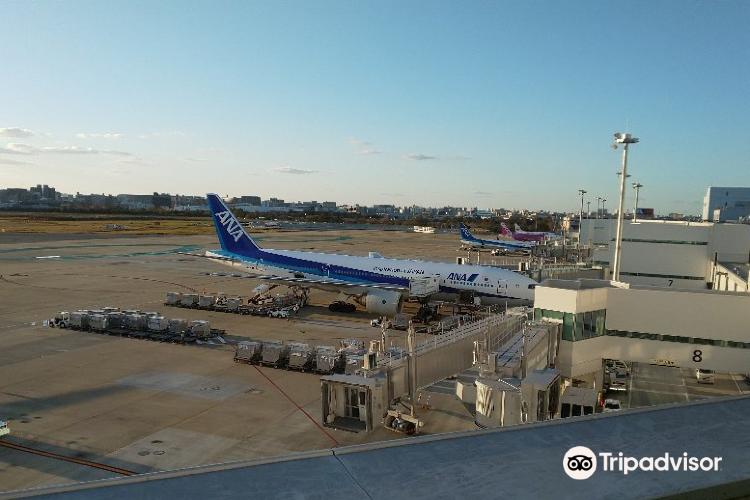 福冈机场航站楼观察室1