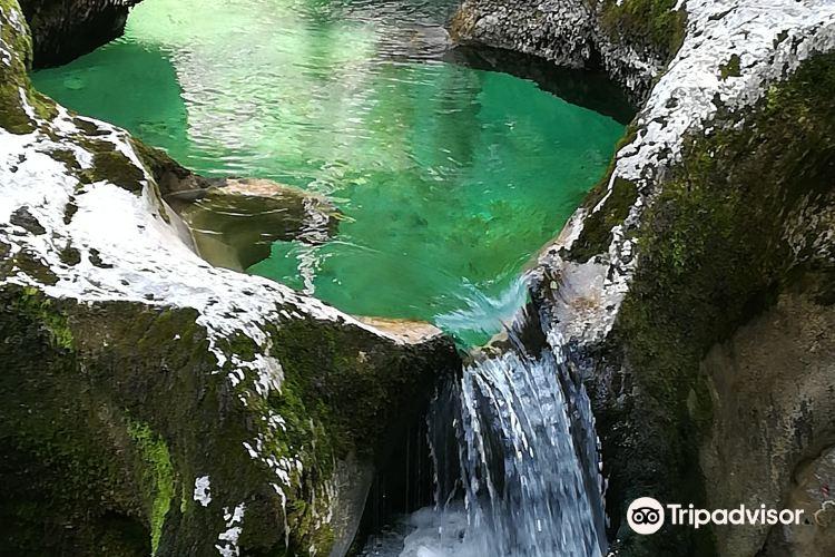 Slap Mostinca (Mostnica Waterfall)1