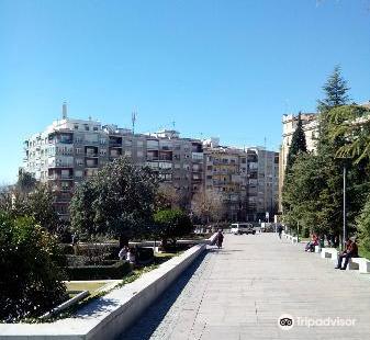 The Fuente del Triunfo Gardens
