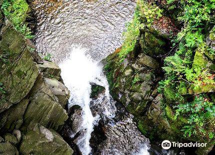 Wilczki Waterfall