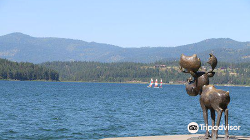 Coeur d'Alene City Park and Independence Point