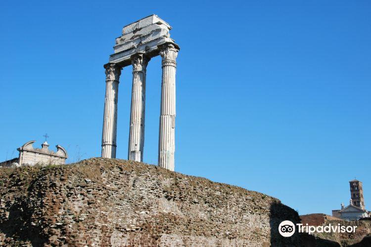 Tempio di Castore e Polluce1