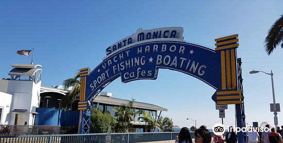 Santa Monica Yacht Harbor Sign2