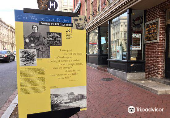 Clara Barton's Missing Soldiers Office Museum1