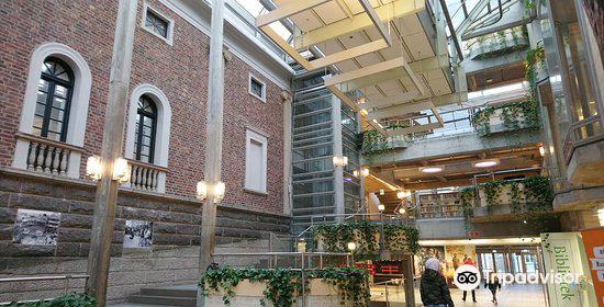Solvberget bibliotek og kulturhus4