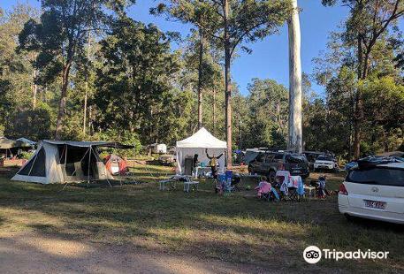 Charlie Moreland Camping Area