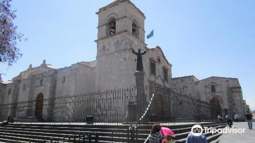 San Francisco Plaza, Church and Monastery