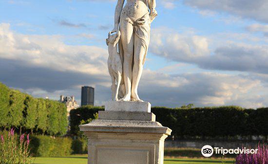 """La statue """"Diane""""3"""