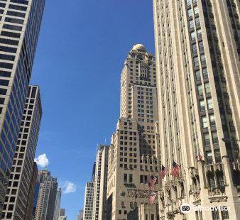 God Bless America Statue Chicago