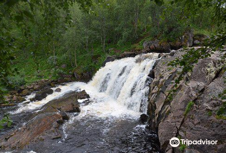 Waterfall on the River Lavna