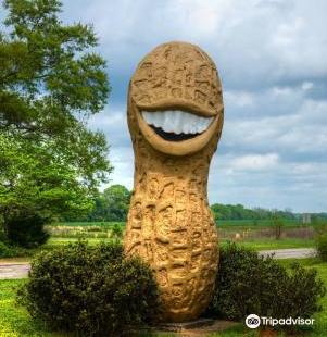 Jimmy Carter Peanut of Plains Statue