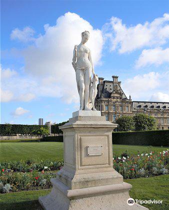 """La statue """"Diane""""1"""